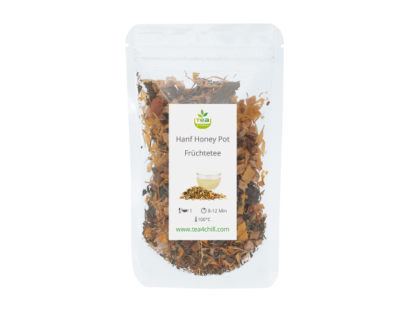 Teeprobe Hanftee Honey Pot, Früchte