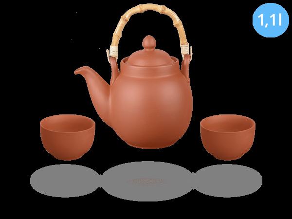 Tonservice Tenno: Ton-Kanne 1,1 Liter + 2 Ton-Cups 120ml