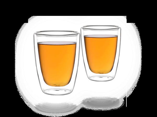 Doppelwandiges Teeglas 200ml