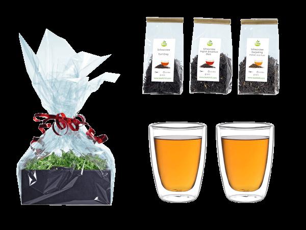 Tee Geschenk doppelwandige Glascups 200ml