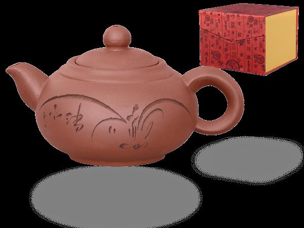 Chinesische Teekanne Ton Shanghai, 350ml, in Geschenkbox