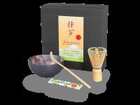 Matcha-Set: Matcha-Schale + Bambusbesen + Bambuslöffel