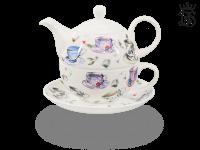 Tea for one, 400 ml, Fine Bone China, Tassendekor