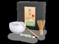 Matcha Set japan weiß