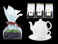 Tee Geschenk Tea for One, Daisy Rundteller