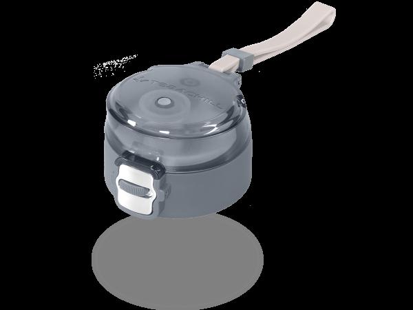 Deckel anthrazit für die 400ml Teeflaschen und MATCHA2go