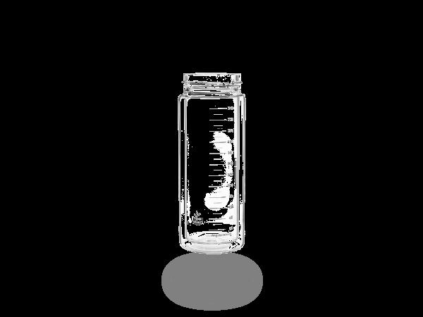 Ersatz-Glasflasche doppelwandig 280ml