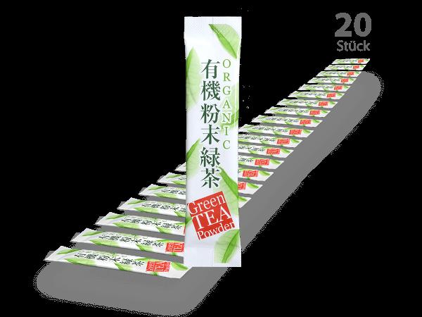 Matcha-Sticks 20 Stück