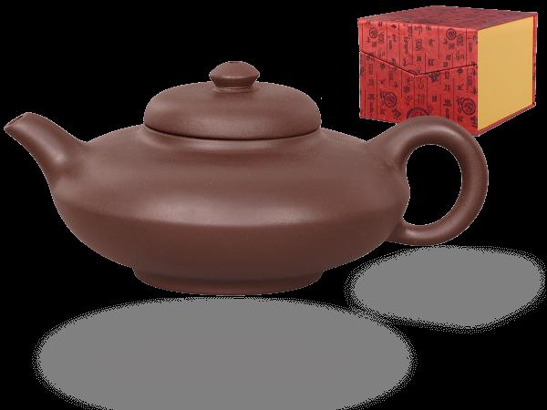 Chinesische Teekanne Ton Ningbo, 300ml, in Geschenkbox