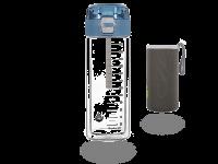 MATCHA2go - Matcha Shaker doppelwandiges Glas + Neoprenhülle