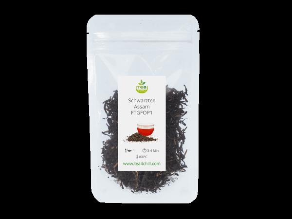 Teeprobe Schwarzer Tee Assam FTGFOP1