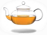 Melina Teekanne Glas mit Sieb