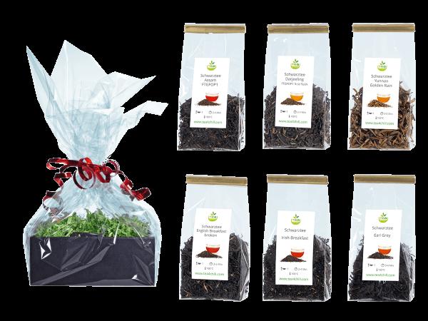 Tee Geschenkset Schwarzer Tee Premium in Beutel