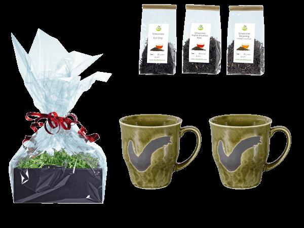 Tee Geschenk Japanische Teetassen, grün
