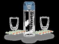 MATCHA2go Matchashaker, Glas, doppelwandig