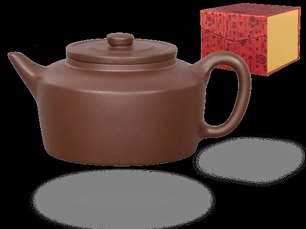 Chinesische Teekanne Ton Wuxi, 300ml, in Geschenkbox