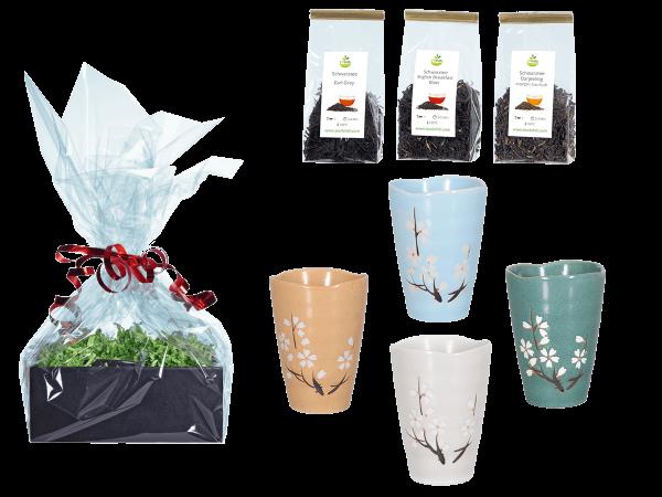 Tee Geschenk japanische Teetassen Kirschblüte