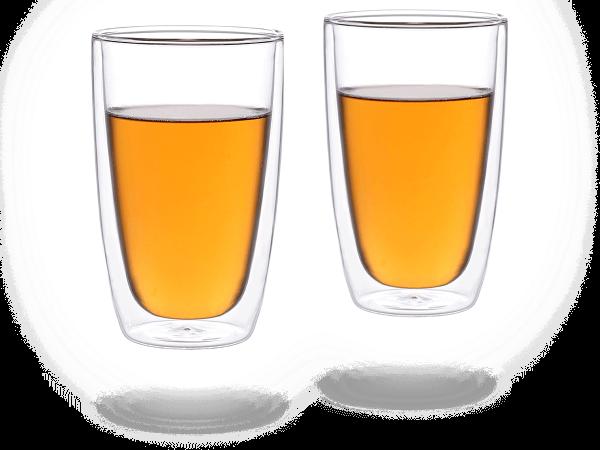 Doppelwandiges Teeglas 360ml