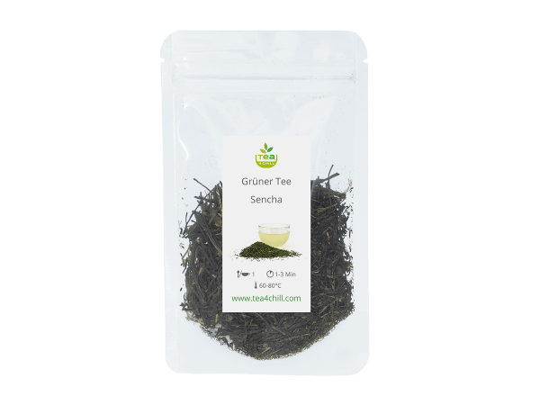Teeprobe Grüner Tee Sencha