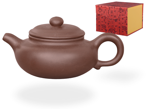 Chinesische Teekanne Ton Nanjing, 200ml, in Geschenkbox