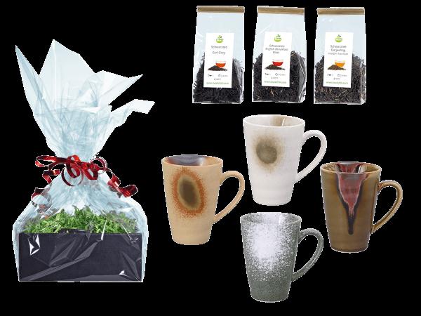 Tee Geschenk japanische Teetassen färbig