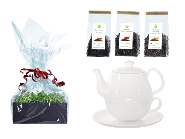 Tee Geschenk Tea for One, Daisy Rundteller