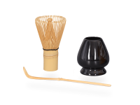 Matchabesen Matchabesenhalter und Matcha löffel bambus