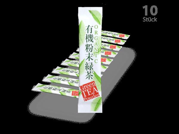 Matcha-Sticks 10 Stück
