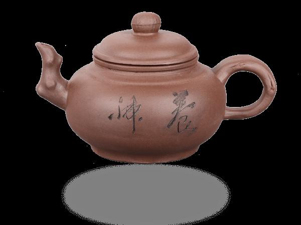 Chinesische Teekanne Ton 400ml, Zweige hell