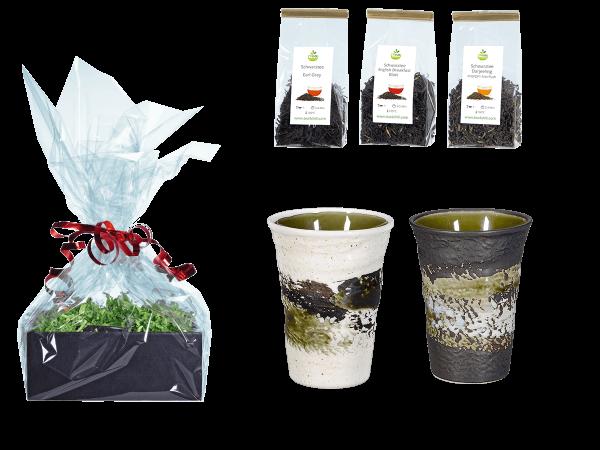 Tee Geschenk Japanische Teetassen 260ml grün