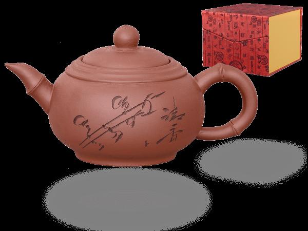 Chinesische Teekanne Ton Xian, 400ml, in Geschenkbox