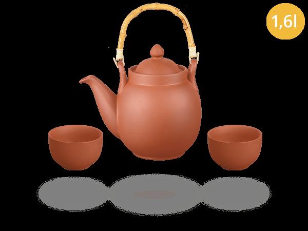 Tonservice Tenno: Ton-Kanne 1,6 Liter + 2 Ton-Cups 120ml