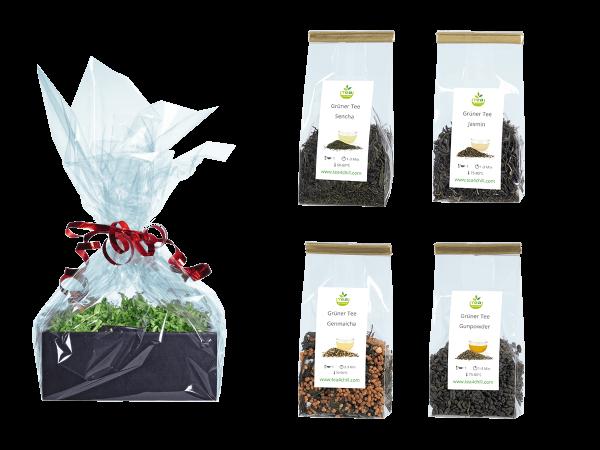 Tee Geschenkset Grüner Tee Premium in Beutel