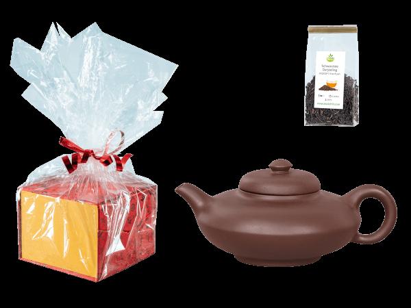 Tee Geschenk, Chinesische Teekanne Ton Ningbo, 300ml