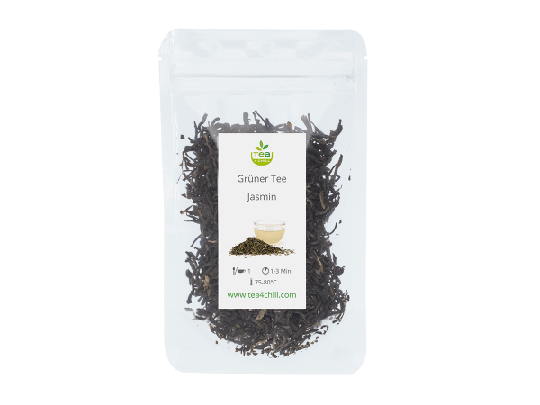 Teeprobe Grüner Tee Jasmin