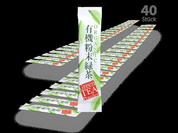Matcha-Sticks 40 Stück