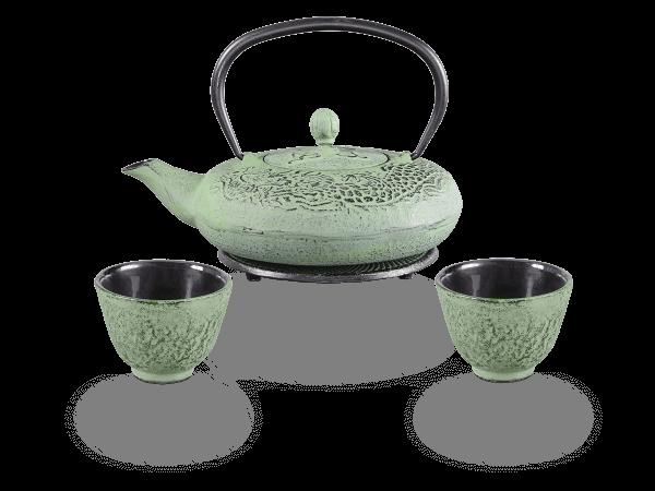 Teeservice Gusseisen Katsu 0,6 Liter grün