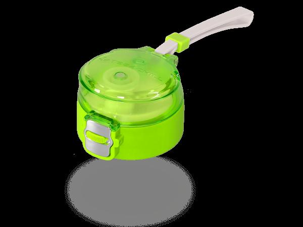 Deckel grün für die 400ml Teeflaschen und MATCHA2go