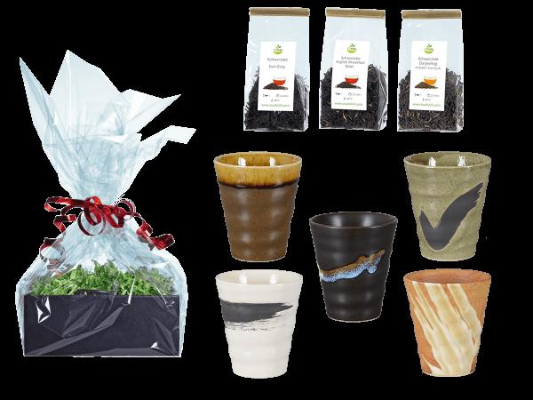 Tee Geschenk Japanische Teetassen, 5Stk konisch