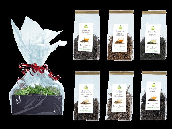 Tee Geschenkset Premium Top Selection in Beutel