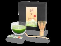 Matcha-Set: Matcha-Schale + Bambusbesen + Bambuslöffel + Bio-Matcha-Stick