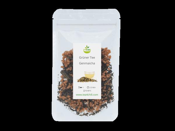 Teeprobe Grüner Tee Genmaicha