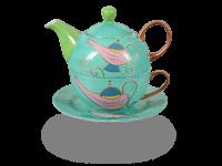 Tea for one, Modern Art Line Kira 400 ml, hellgrün