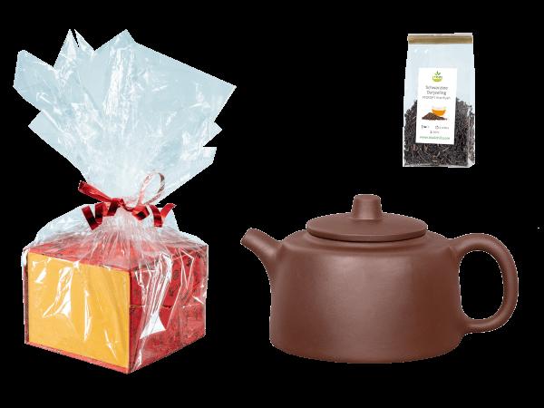 Tee Geschenk, Chinesische Teekanne Ton Yiwu, 350ml