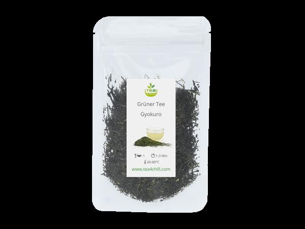 Teeprobe Grüner Tee Gyokuro