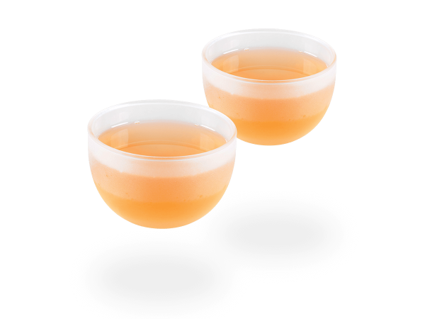 Japanische Teecups Glas matt, 120ml
