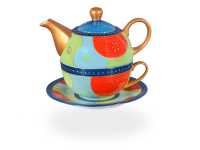Tea for one, Modern Art Line Romy 400 ml, hellblau