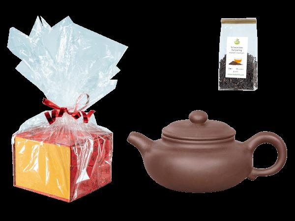 Chinesische Teekanne Ton Nanjing, 200ml