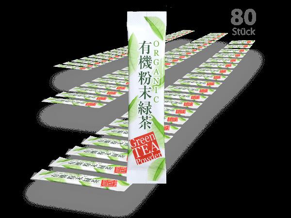 Matcha-Sticks 80 Stück