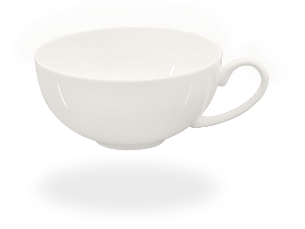 Buchensee Teetasse 150ml Fine Bone China weiß